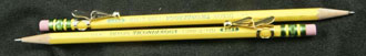 Faultless band clip on pencils