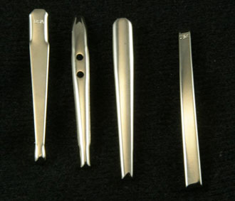 Jewelry finish pen clips